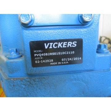 Origin Liberia VICKERS HYDRAULIC PUMP PVQ40B2RSE1S10C2110