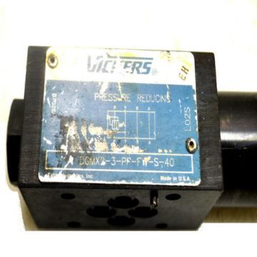 3 Barbuda  Vickers Eaton DGMX2-3-PP-BW-S-40 Reversible Hydraulic Reducing Valves