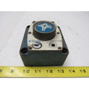 Sperry SolomonIs Vickers FG-02-1500-50 Hydraulic Flow Control Valve Manifold Mounted