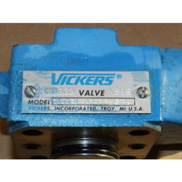 VICKERS Netheriands  HYDRAULIC VALVE MODEL NO CVCS16XS2W12510