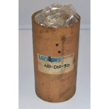 VICKERS Oman  HYDRAULIC CARTRIDGE VALVE 40-D10-30 Origin #211-KH