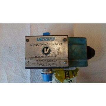 VICKERS Belarus DG4S4 012AB 60 S324 HYDRAULIC DIRECTIONAL VALVE REMANUFACTURED
