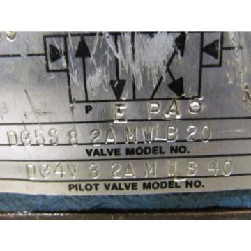 Vickers Ecuador DG5S 8-2AMWLB 20 Hydraulic Valve