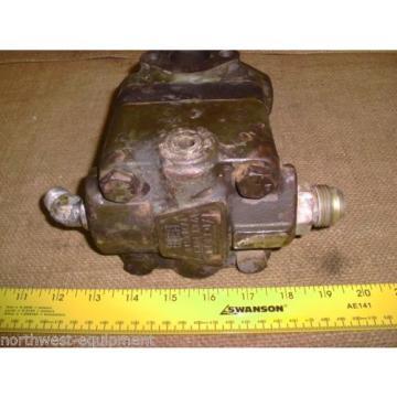 Vickers Liechtenstein V2F 1F9S 18B, 8H 20A 001L  Hydraulic Vane PUMP 2 flange