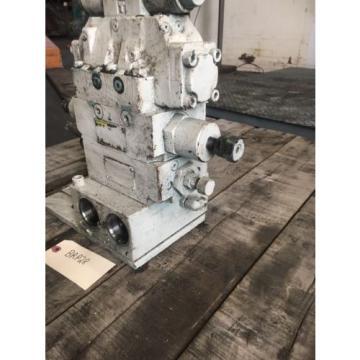 Vickers Liechtenstein DG4V-3S-6C-M-U-HL7-60-EN490 Hydraulic Valve With Parker Hydraulic Blocks