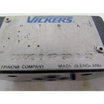Vickers Andorra  DGMX2-3-PP-BW-S-40 Pressure Reducing Module 51-1000 PSI Hydraulic