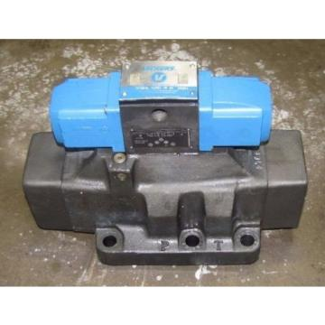 VICKERS Suriname DG4S4L 0168C WB 50 TWO STAGE HYDRAULIC DIRECTIONAL CONTROL VALVE