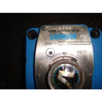 VICKERS/ Suriname  EATON FG 03 28 22 HYDRAULIC FLOW CONTROL VALVE FREE SHIPPING