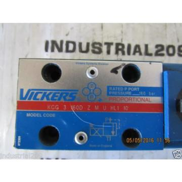 VICKERS Solomon Is  PROPORTIONAL VALVE KCG3160D ZMUHL110 Origin