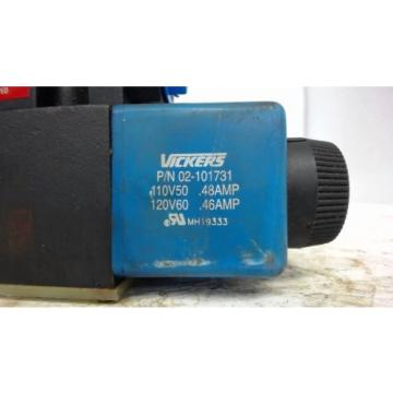 VICKERS Oman  DG4V-3S-7C-M-FPA5WL-B5-60 HYDRAULIC VALVE WITH SOLENOIDS, 1450 PSI