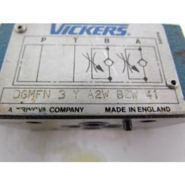 Vickers CostaRica DGMFN-3-Y-A2W-41 SystemStak Hydraulic Dual Flow Control
