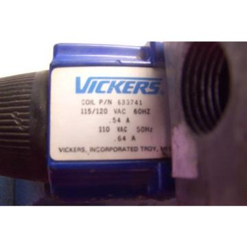Origin Egypt  VICKERS DG4V VICKERS DG5S HYDRAULIC DIRECTIONAL CONTROL VALVE 120VAC COIL