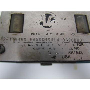 Vickers Argentina 02-119460 PA5DG4S4LW 01CB60 Hydraulic Directional Control Valve