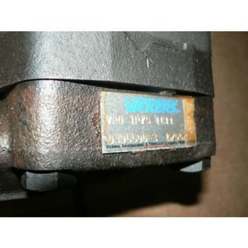 Origin Liberia VICKERS HYDRAULIC PUMP V201P7S1C11