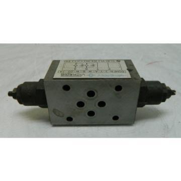 Vickers Niger Hydraulic Valve, DGMFN-3-Y-A2W-B2W-20-JA, Used, WARRANTY