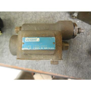 Origin Solomon Is  VICKERS RELIEF VALVE # CG-03-C-10