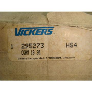 Origin Bulgaria  VICKERS 295273, HYDRAULIC CNTRL CGAM 10 20, HS4, Origin IN BOX
