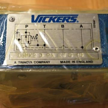 Vickers Swaziland  DGMX2-3-PA-CW-S-40 Pressure Reducing Hydraulic Valve - Origin