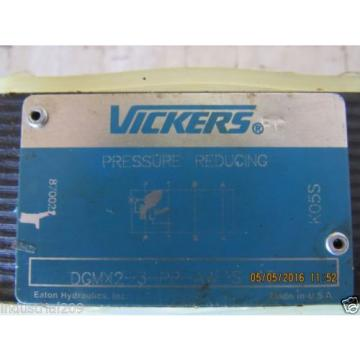 VICKERS Slovenia  PRESSURE REDUCING VALVE DGMX2-3-PP-AW-S-40 Origin