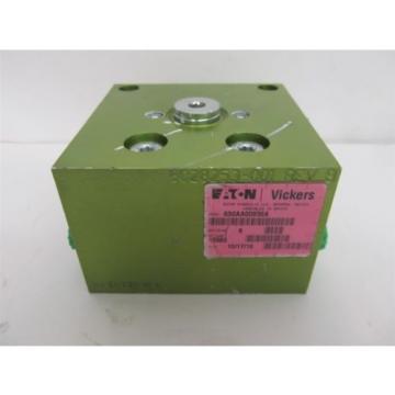 Vickers Burma 630AA00956A Hydraulic Block