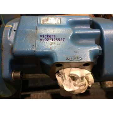 VICKERS Liechtenstein V-02-125527 HYDRAULIC Pump OEM $1,645, BUY NOW $1,142