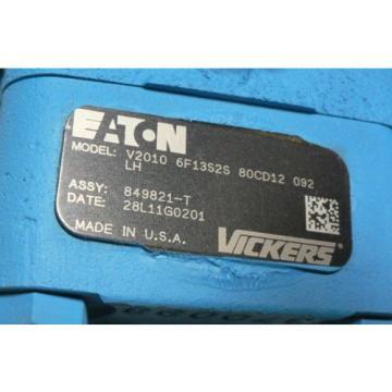 VICKERS Ecuador V2010-6F13S2S-80CD12-092 V2010-6F13S2S-80CD-10L V2010-6F 13S2S-80CD-12L