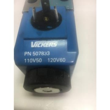 Vickers Botswana DG4V-3-OA-M-U-B6-60 Hydraulic Valve 120V 5000 PSI Warranty