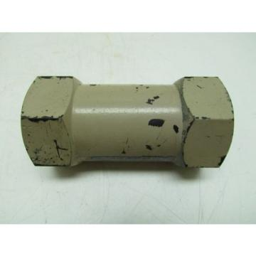 Vickers United States of America  DS8P1-10-5-11 Steel Line Mounted Check Valve 3000psi Hydraulic 50 GPM
