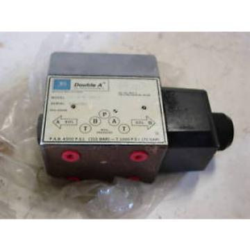 DOUBLE France A HYDRAULIC DIRECTIONAL VAVLE 120Vac COIL Origin