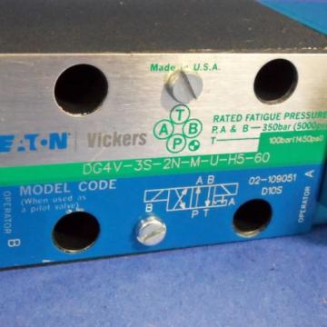 VICKERS Bahamas  DIRECTIONAL CONTROL VALVE DG4V-3S-2N-M-U-H5-60