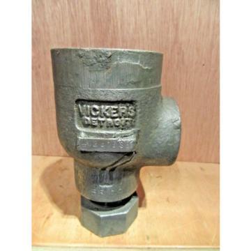 Origin CostaRica OLD STOCK VICKERS DETROIT C2-815-S3 CHECK VALVE 5599 RIGHT ANGLE