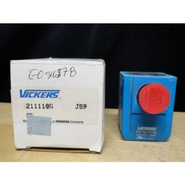 Vickers Belarus  ~ Coil Valve ~ Model Number 02-111185 ~ Brand origin In the Box