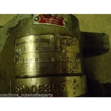 Vickers Cuinea Hydraulic Pump PVB20-FRSFW-20-CC-11 _ PVB20FRSFW20CC11
