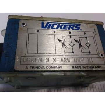 Origin SamoaWestern VICKERS DGMFN 3 X A2W B2W 21 HYDRAULIC FLOW CONTROL STACK MODULE DC
