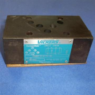 VICKERS Suriname  315BAR DIRECT CHECK VALVE DGMDC-5-X-TK-30 Origin
