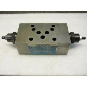 VICKERS Luxembourg 867332 SYSTEMSTAK FLOW CONTROL VALVE DGMFN-5-Y-A2W-B2W-30 USED CONDITION