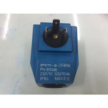 SPERRY Liberia VICKERS PN 617486 SOLENOID COIL 230V 60HZ for Hydraulic Valves