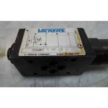 Vickers Liechtenstein Modular Valve, DGMX2 3 PP BW B 40, USED, WARRANTY