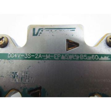 Eaton Cuba Vickers DG4V-3S-2A-M-FPA5WL-B5-60 Control Valve 120V coil