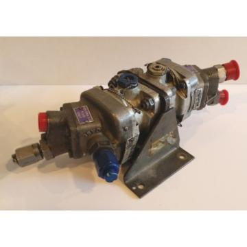 Vickers France Aircraft Dual Hydraulic Pump Motor Package A-0643-089D