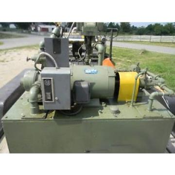 75 Honduras hp dual acting hydraulic pump package 3000 psi Vickers pumps all control