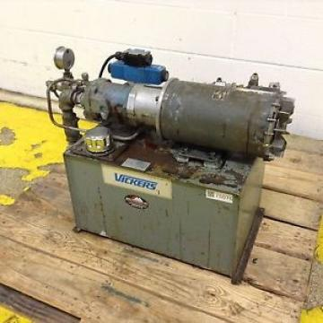 Vickers United States of America  Hydraulic Power Pack 89J-94004-V7 Used #75076