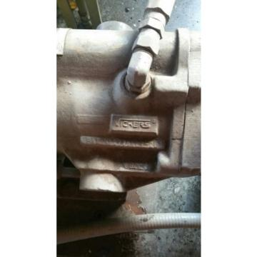 Vickers Niger Hydraulic Power Unit 15 hp 80 gallon 3 phase