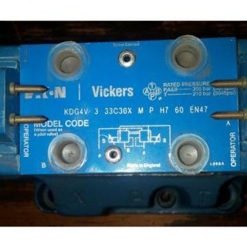 EATON Gambia VICKERS HYDRAULIC VALVE MODEL KDG5V 2C180N M P H1 10 EN 47