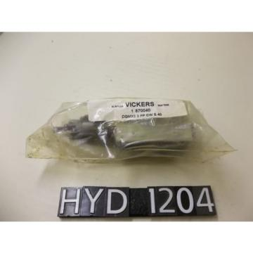 Origin Hongkong  Vickers Pressure Reducing Hydraulic Valve HYD1204