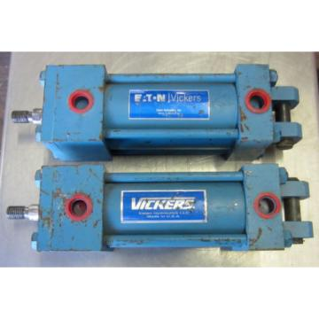 Vickers Egypt Eaton Hydraulic Cylinder TL10DACC1AA03000 250PSI Used Listing is for One
