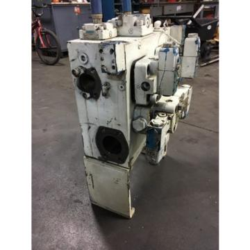 Vickers Solomon Is  Hydraulic Block W/ Vickers Valves Warranty Fast Shipping