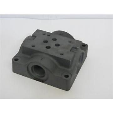 Eaton Rep.  / Vickers 466390, Single Station Hydraulic Sub Plate Cast Iron