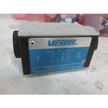 Vickers Reunion Hydraulic Check Valve DGMPC-3-BAK-41 E4~40011MO