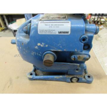 NOS Moldova, Republic of  PARKER EATON VICKERS ADJUSTABLE SPEED HYDRAULIC DRIVE PTR3-HR13-20 TELCO
